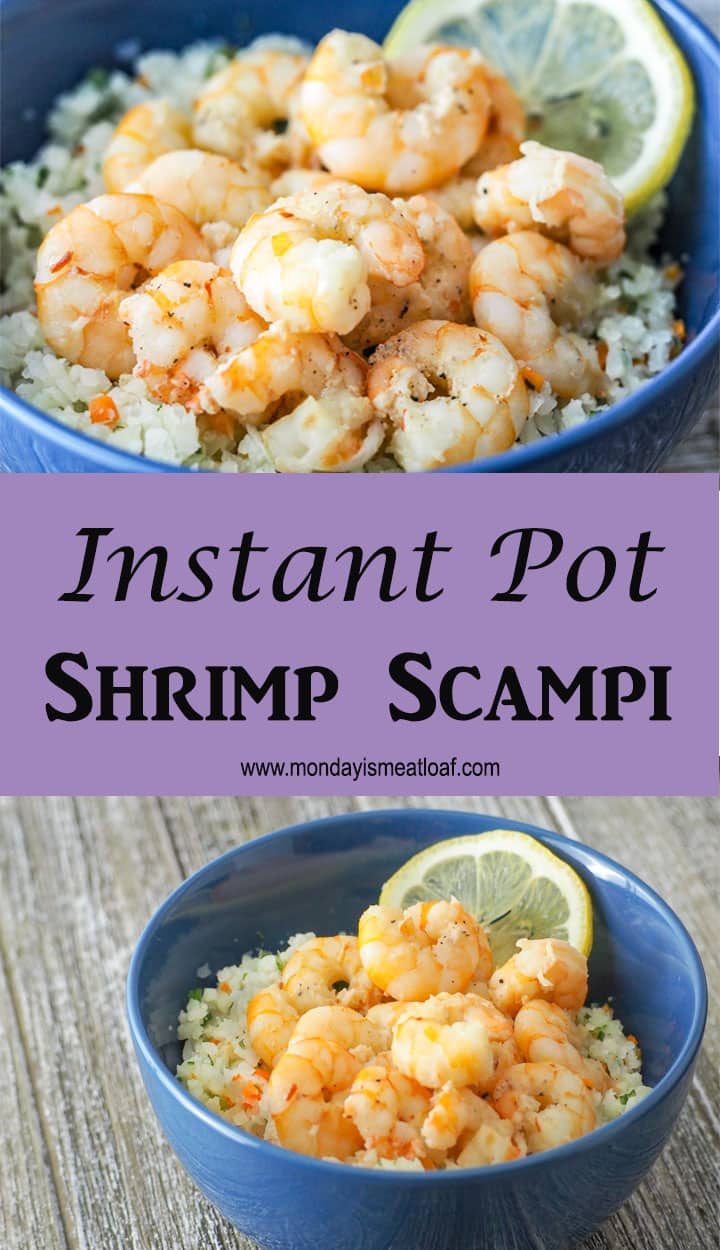 An easy and healthy weeknight dinner! On the table in twenty minutes and keeping you on track for your fitness goals! #mealprep #weeknightdinner #shrimpscampi #heatlhy #keto #healthydinner #shrimprecipe #mealprep