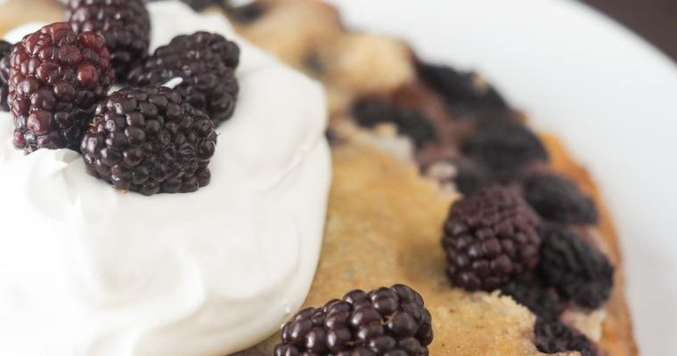 Instant Pot Blackberry Cobbler