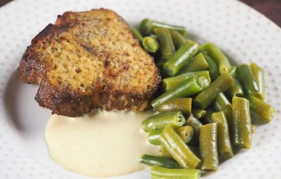 Air Fryer Lamb Chops with Horseradish Sauce