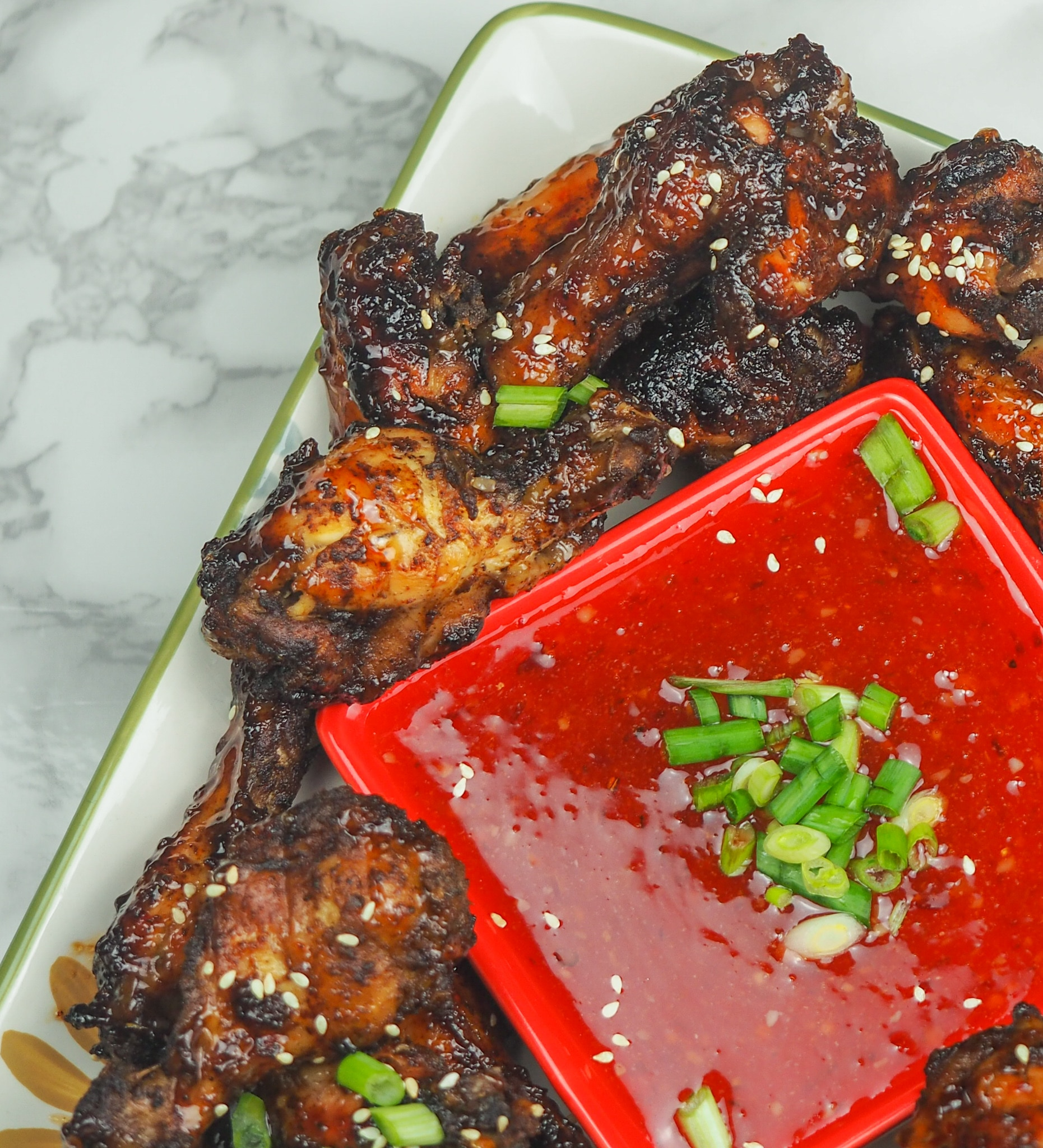 Instant Pot Sweet Spicy Wings