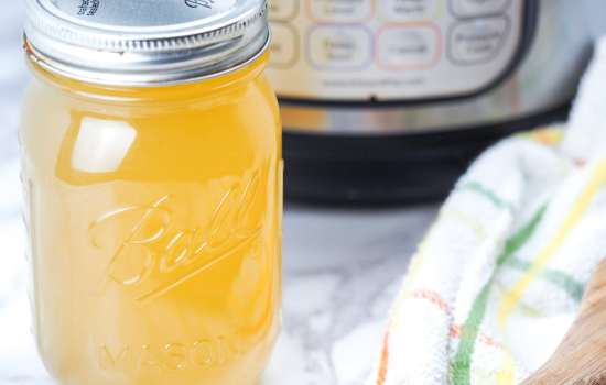 How to Make Instant Pot Chicken Bone Broth