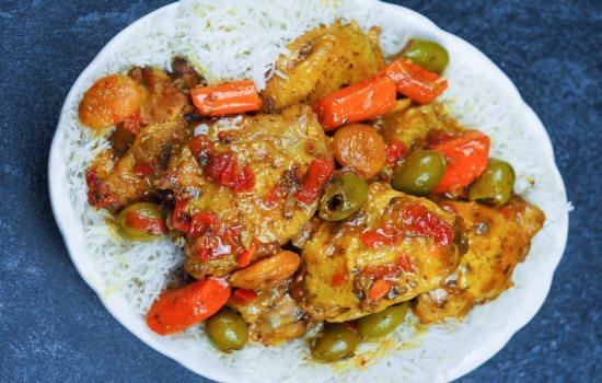 Instant Pot Chicken Tagine