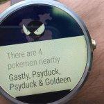 Pokémon GO for Android Wear