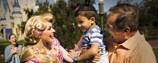 Disney is all about creating magical moments for guests (source: Walt Disney World)