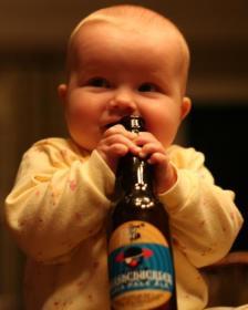 Boozing Baby