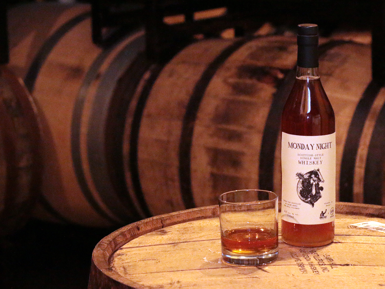 Big news: We partnered up with ASW Distillery to make a whiskey