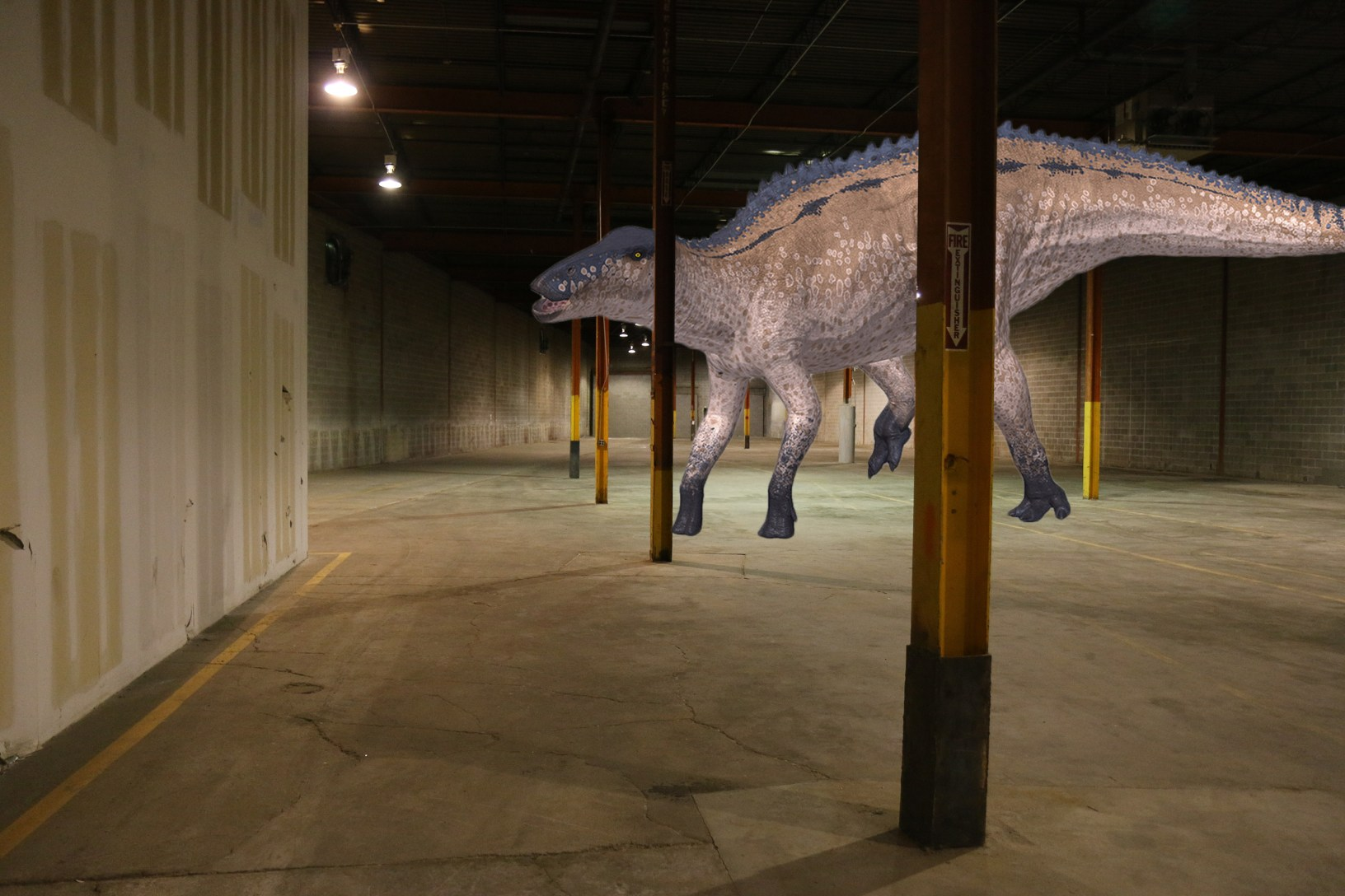 Our new dino-tastic brewery now has a name