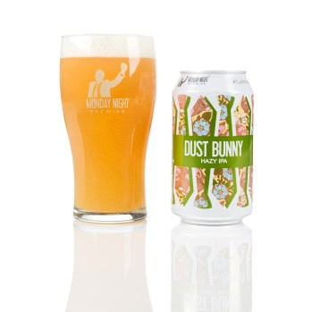 Dust Bunny, a hazy IPA from Monday Night Brewing