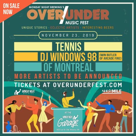 Over/Under Music Fest - 11/23/19