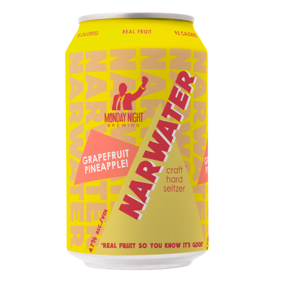 Narwater Hard Craft Seltzer - Grapefruit Pineapple