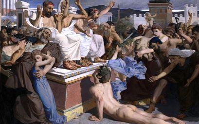 Фидиппид - первый погибший марафонец