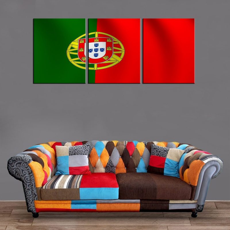 Décoration Murale Drapeau Portugal