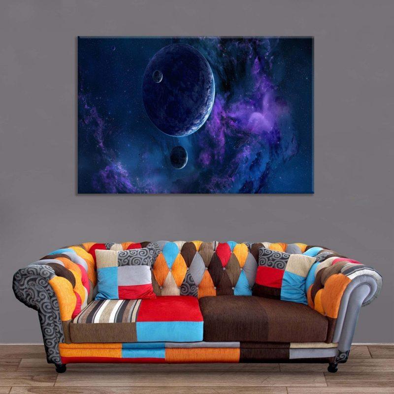 Décoration Murale Galaxie Inconnue