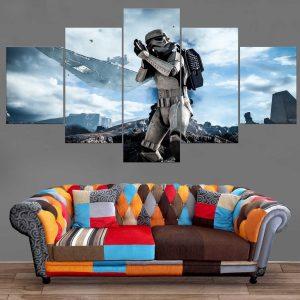 Décoration Murale Star Wars Storm Trooper