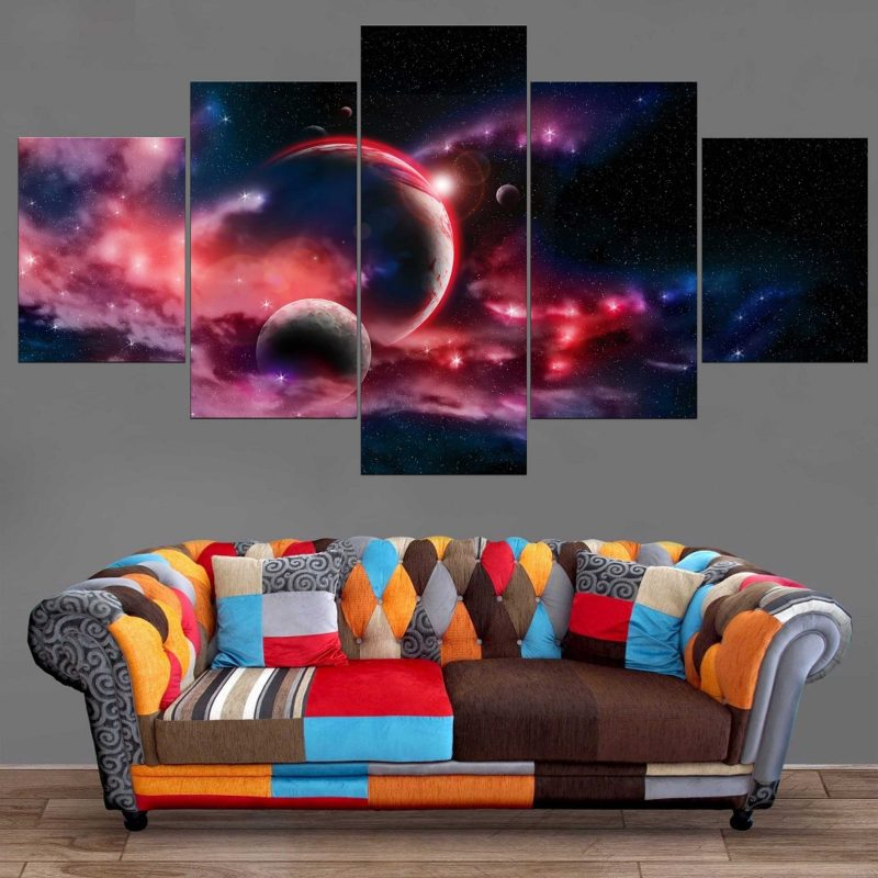 Décoration Murale Galaxie Lointaine