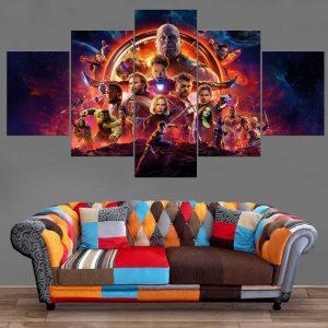 Décoration Murale Avengers Infinity War Affiche