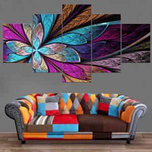 Décoration Murale Peinture Papillon