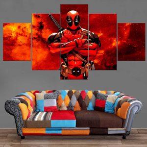 Décoration Murale Deadpool