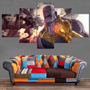 Décoration Murale Avengers Infinity War Thanos