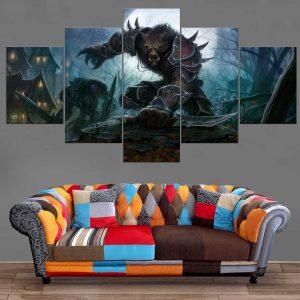 Décoration Murale Warcraft Worgen