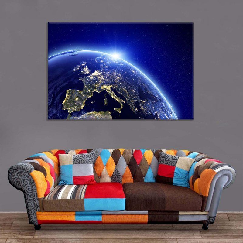 Décoration Murale Planète Terre