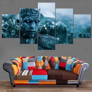 Décoration Murale Games Of Thrones Marcheur Blanc