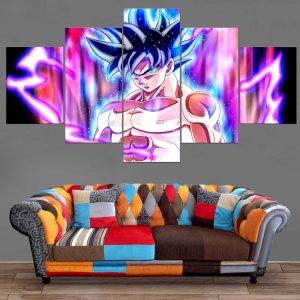 Décoration Murale Dragon Ball Super Goku Ultra Instinct