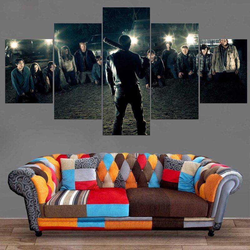 Décoration Murale The Walking Dead Negan