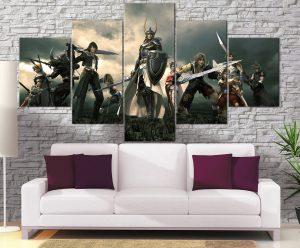 Décoration murale Final Fantasy Dissidia
