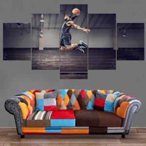 Décoration Murale Basket Ball Dunk