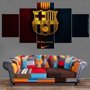 Décoration Murale Football FC Barcelona