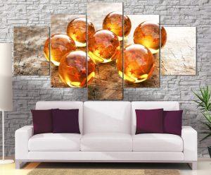 Décoration Murale Dragon Ball Z Boules de Cristal