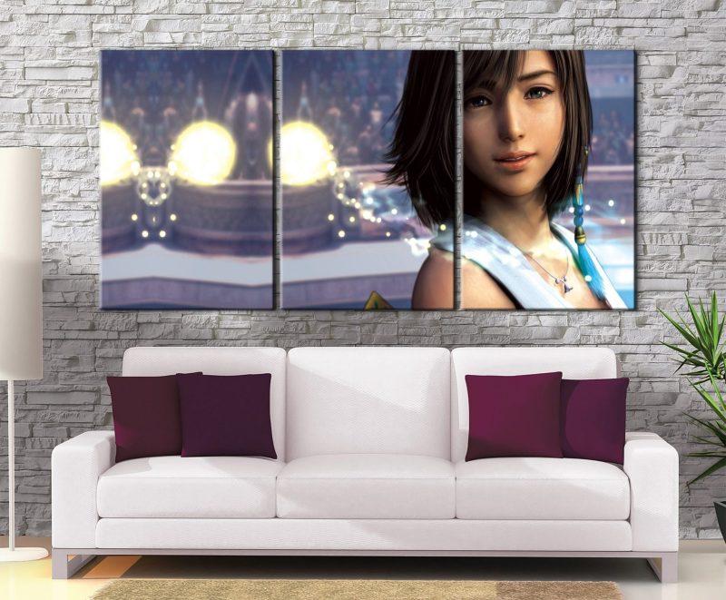 Décoration murale Final Fantasy 10 Yuna