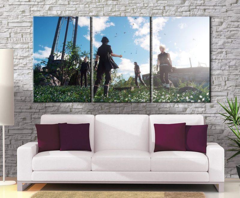 Décoration murale Final Fantasy 15 Journey