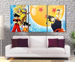 Décoration Murale Dragon Ball Z Goku Genkidama