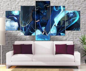 Décoration Murale Sword Art Online Kirito Vs Blue eyed Demon