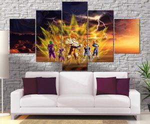 Décoration Murale Dragon Ball Z Arc Freeza