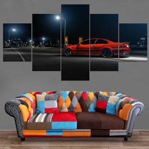Décoration Murale Voiture BMW