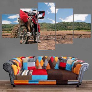 Décoration Murale Moto Cross Challenge