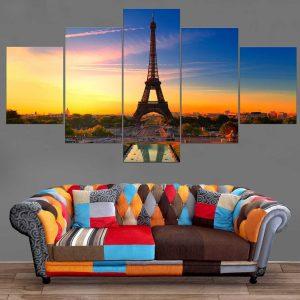 Décoration Murale Ville Paris Tour Eiffel
