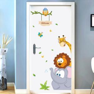 Sticker de porte pour chambre d'enfant