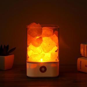 Lampe de sel d'himalaya purificatrice d'air