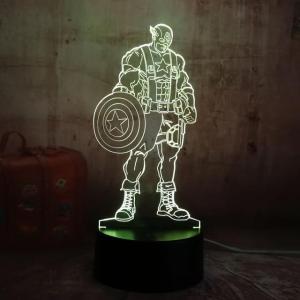 Lampe Led Captain America