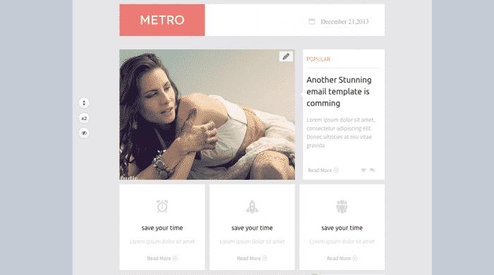 Template metro