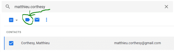 ajout libellé Gmail