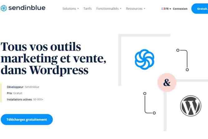 Plugin WordPress Sendinblue
