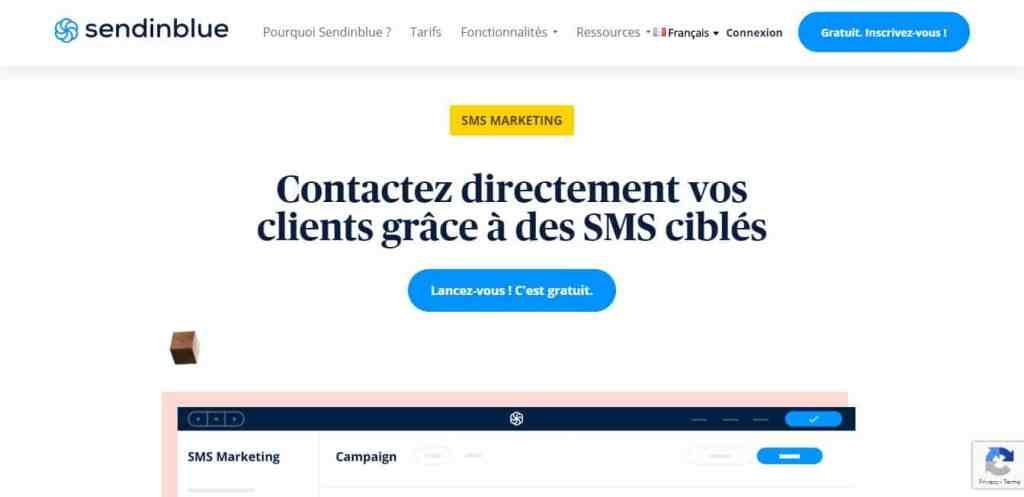 Sendinblue SMS : Le meilleur logiciel d'envoi de SMS en masse
