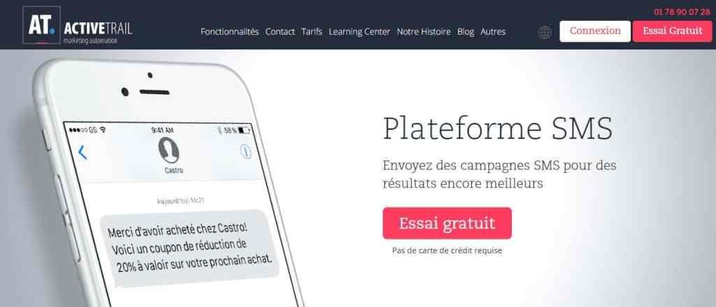Active Trail : Un excellent logiciel d'envoi de SMS en masse