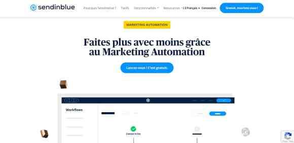 Sendinblue : le logiciel de marketing automation français
