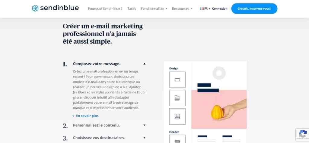 Sendinblue pour Mac OS - Les 7 meilleurs Logiciels Emailing gratuits pour Mac